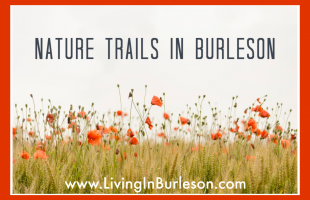 nature trails in burleson