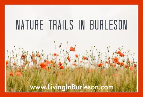nature trails in burleson
