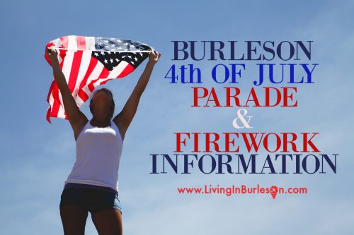 Burleson 4th of July Parade Fireworks